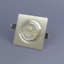 LED Inbouwspot 3 Watt Warm Wit Dimbaar