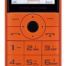 Senioren Gsm Mobiele Telefoon Oranje