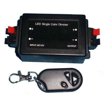 Geeek Dimmer für einfarbige LED-Streifen mit Fernbedienung 96 Watt