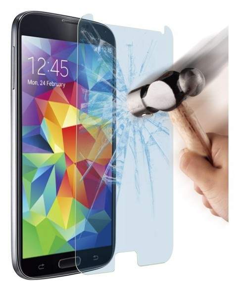 Sterke Tempered Glass Screenprotector Samsung S5