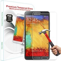 Sterke Tempered Glass Screenprotector Samsung Note 4