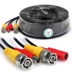 Geeek 10 meter CCTV Kabel Combi Kabel Koax BNC RG59 + Power