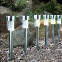 Led Solar Buitenverlichting 5 stuks