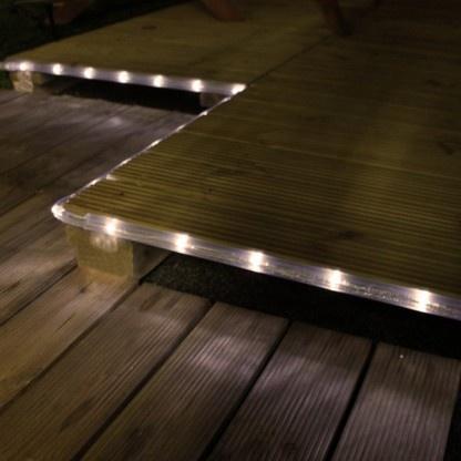 led lichtslang voor buiten op zonne energie led tuinverlichting
