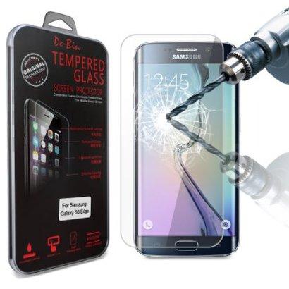 Geeek Schutzfolie aus gehärtetem 0,3 mm Panzerglas für Samsung Galaxy S6 Edge