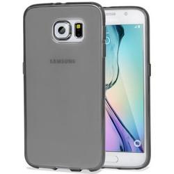 Geeek Stabile Smartphone-Hülle für Samsung Galaxy S6 – Transparent Schwarz
