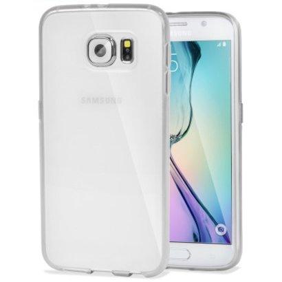 Geeek Stabile Smartphone-Hülle für Samsung Galaxy S6 Edge - Transparent
