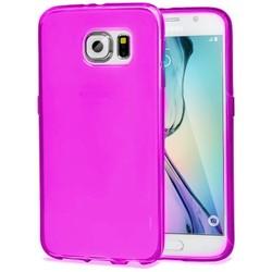 Geeek TPU Case Samsung Galaxy S6 Edge Transparent Pink