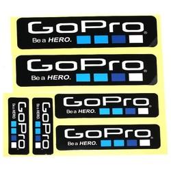 Geeek Be a Hero Aufkleber 6 Pack für GoPro