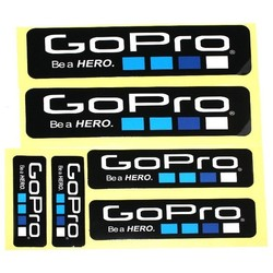 Geeek Be a Hero Stickers 6 pack for GoPro