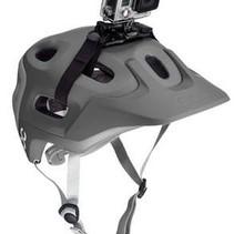 Vented Helm Houder Strap Mount voor GoPro