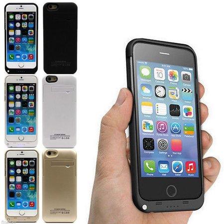 Geeek Ultra Slim iPhone 6 Bumper / Power-Bank - 3200 mAh
