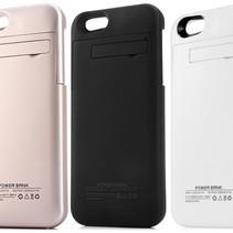 Ultra Slim iPhone 6 Plus Powerbank / Case Cover - 4000 mAh