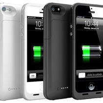 Ultra Slim iPhone 5 / 5S Power Bank Case Cover 2200 mAh