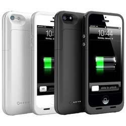 Geeek Ultra Slim iPhone 5 / 5S Power Bank Case Cover 2200 mAh
