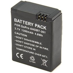 Geeek Battery for GoPro Hero 3 - 1300 mAh