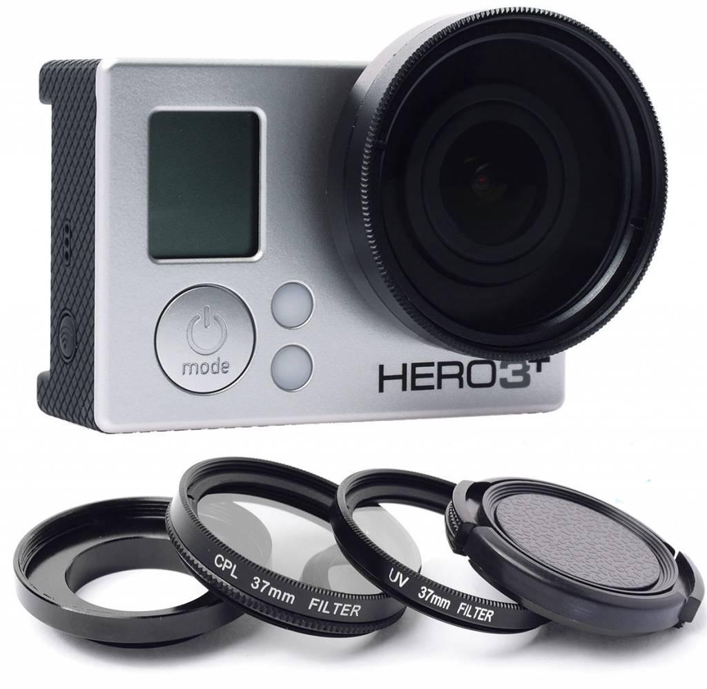 GoPro 37mm Lens UV Filter Polarizer Set