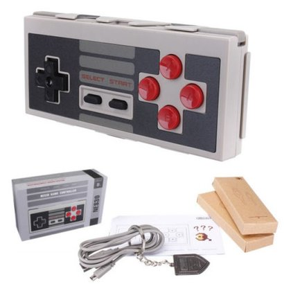 Geeek NES Bluetooth Wireless Controller Gamepad NES30