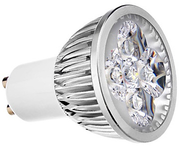 GU10 Warm Wit Led Spot 4W 2700K