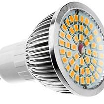 GU10 Warm White LED Spot 6W 2700K - 4 Stück
