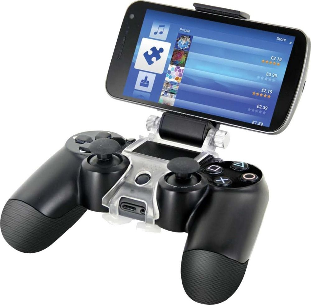 Geeek ps4 smartphone bracket mount for Housse manette ps4