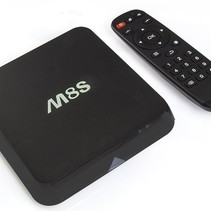 M8S Android TV Media Player HEVC Kodi Popcorn-Spieler