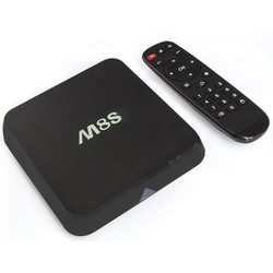 Geeek M8S Android TV Media Player HEVC Kodi Popcorn-Spieler