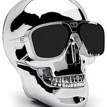 Aero XS Bluetooth Skull Speaker Silver