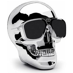 Geeek Aero XS Bluetooth Skull Speaker Silver