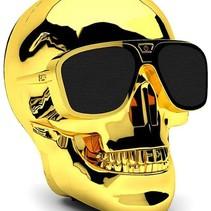 Aero XS Bluetoothl Skull Speaker Gold