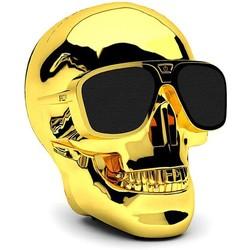 Geeek Aero XS Bluetoothl Skull Speaker Gold