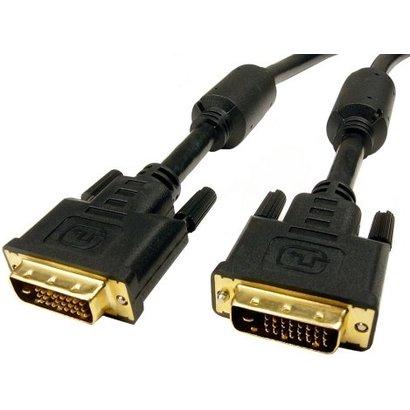 Geeek Hochwertiges DVI-Kabel 1,8 m – Schwarz
