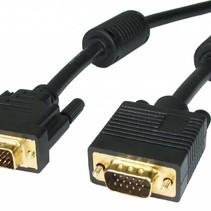 Hoogwaardige DVI naar VGA Kabel 1,8 meter Zwart