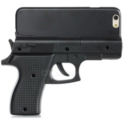 Geeek iPhone 6 / 6S / 7 / 8 Gun Case Wapen Hoes