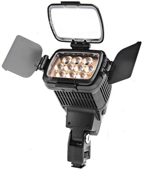 Professionele Camera Video Verlichting Licht LED-1800 5000/3200K