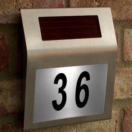 Geeek LED-Solarhausnummernschild