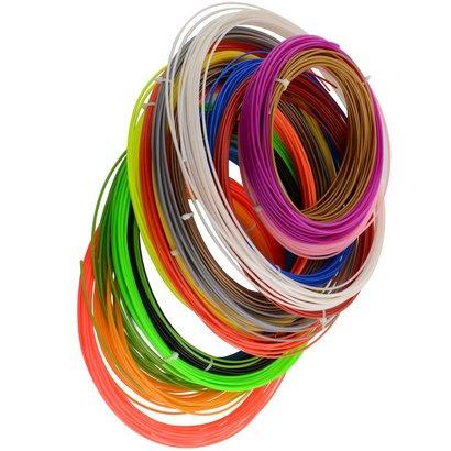 Geeek 3D-Farbdrucker Filament für 3D-Drucker Stift (27 x 10 Meter)