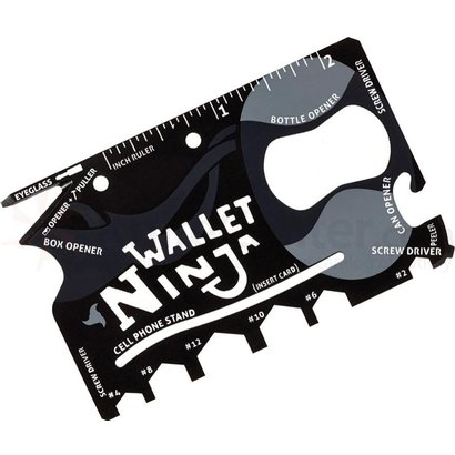 Geeek Ninja Wallet 18-in-1 Toolkit
