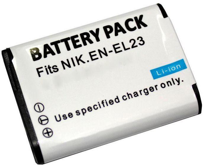Nikon EN-EL23 Accu Batterij 1400 mAh