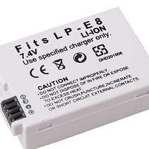 Battery for Canon LP-E8 - 1350 mAh