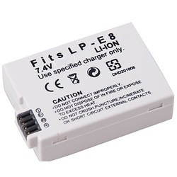 Geeek Accu / Batterij voor Canon LP-E8 - 1350 mAh