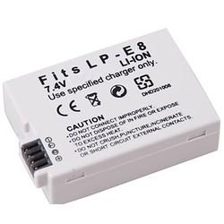 Geeek Battery for Canon LP-E8 - 1350 mAh