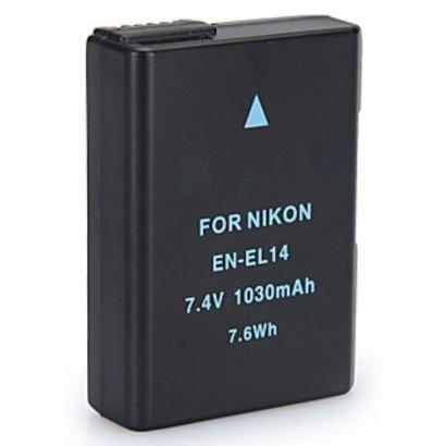 Geeek Nikon EN-EL14 Akku Akku 1030 mAh
