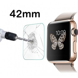 Geeek Tempered Glass Glas Screen Protector voor Apple Watch - 42mm