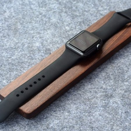 Geeek Holz-Dockingstation für Apple Watch