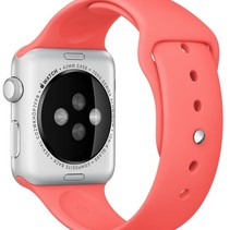 Silicone Rubber Sport Strap 42 mm Sportband for Apple Watch - Pink
