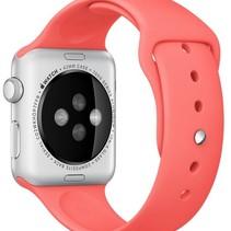 Silicone Rubber Sport Strap 42 mm Sportbandje voor Apple Watch - Roze