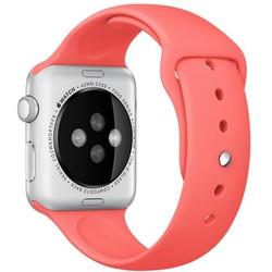 Geeek Silicone Rubber Apple Watch Sport Strap 42mm Sport Strap Pink