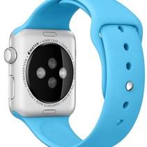 Silicone Rubber Sport Strap 42 mm Sportbandje voor Apple Watch - Blauw