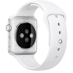 Geeek Silikon Apple-Watch-Sport-Bügel 42mm - Weiß